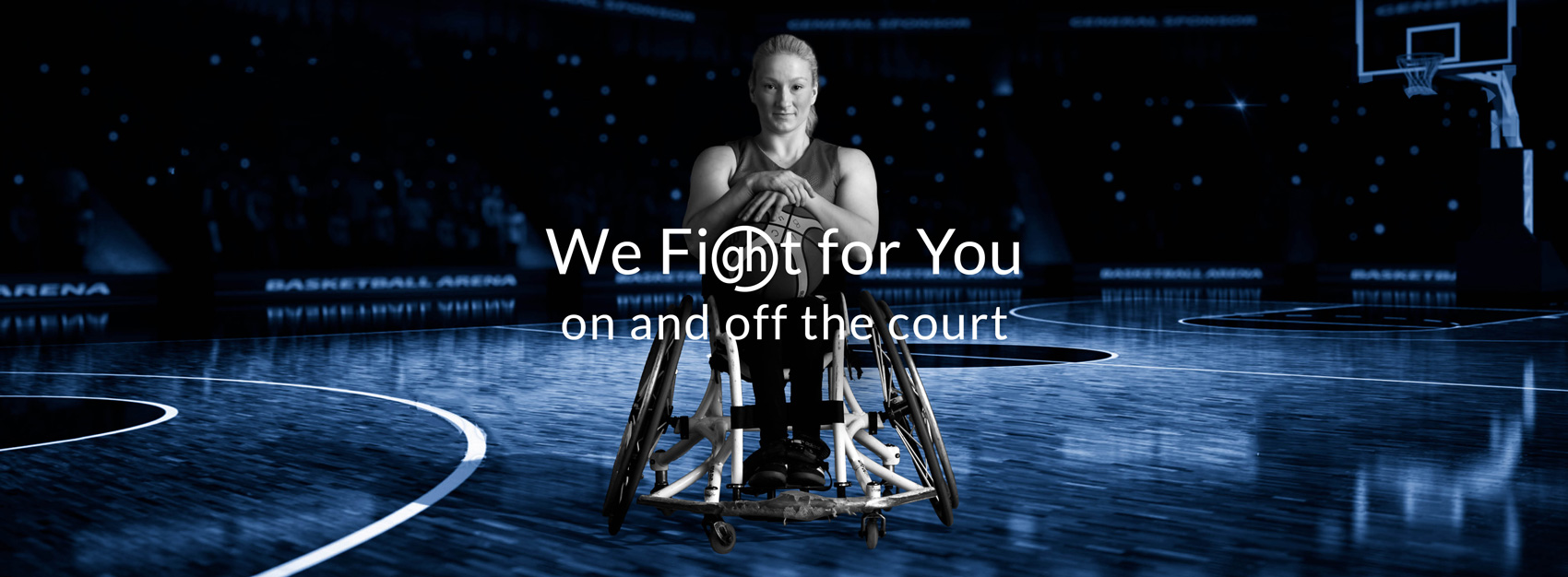 we fight for you on and off the court