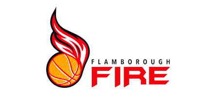 Flamborough Fire Basketball logo