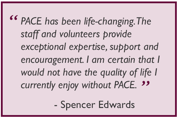 Pace Quote by Spencer Edwards