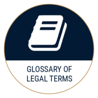 glossary of legal terms icon