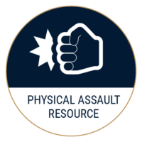 physical assault icon