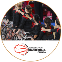 Wheel Chair Basketball logo