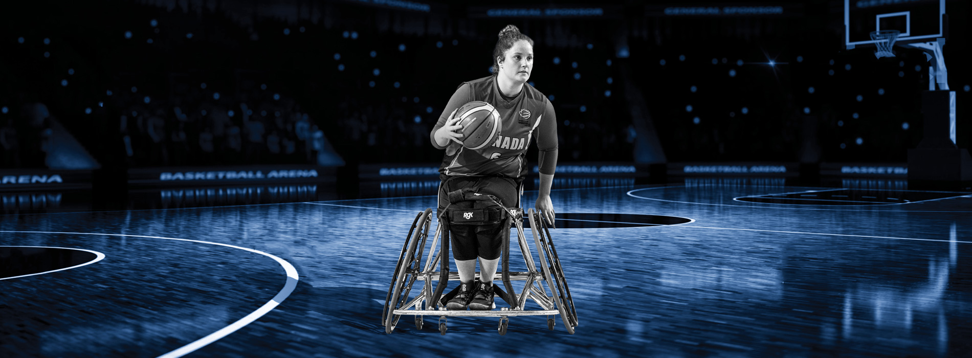 Wheelchair Basketball Athlete - Arinn Young