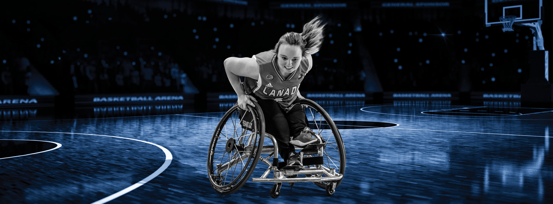 Wheelchair Basketball Athlete Elodie Tessier